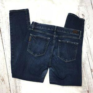 Paige Kylie dark wash cropped jeans size 30